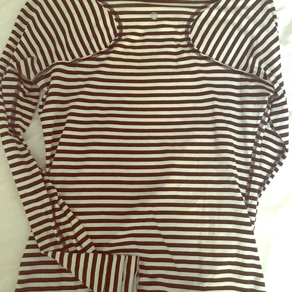 Lululemon striped long sleeve